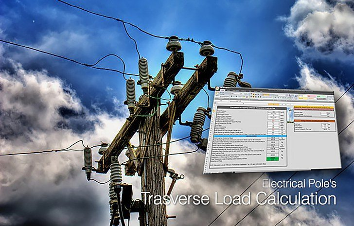 Electrical Pole's Trasverse Load Calculation