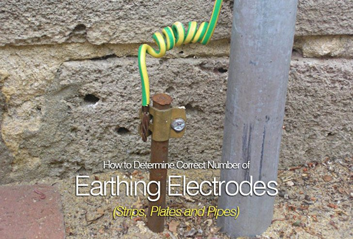 how to determine correct number of earthing electrodes