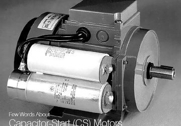 Start-run capacitor single-phase induction motor (Source ABB)