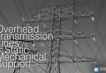 Overhead Transmission Lines - Principles of Engineering // Static Mechanical Support