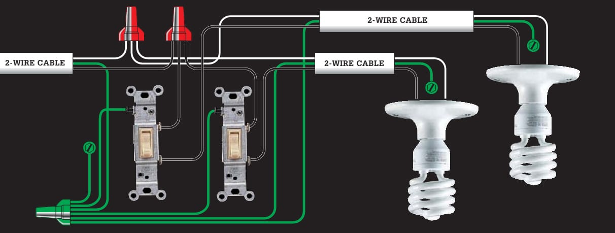 home light switch wiring mobile home light switch wiring diagram