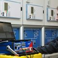 Commissioning of protection relays using test equipment and software