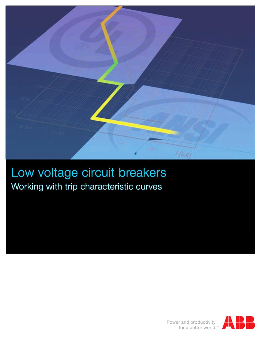 Working with trip characteristic curves of low voltage circuit breakers