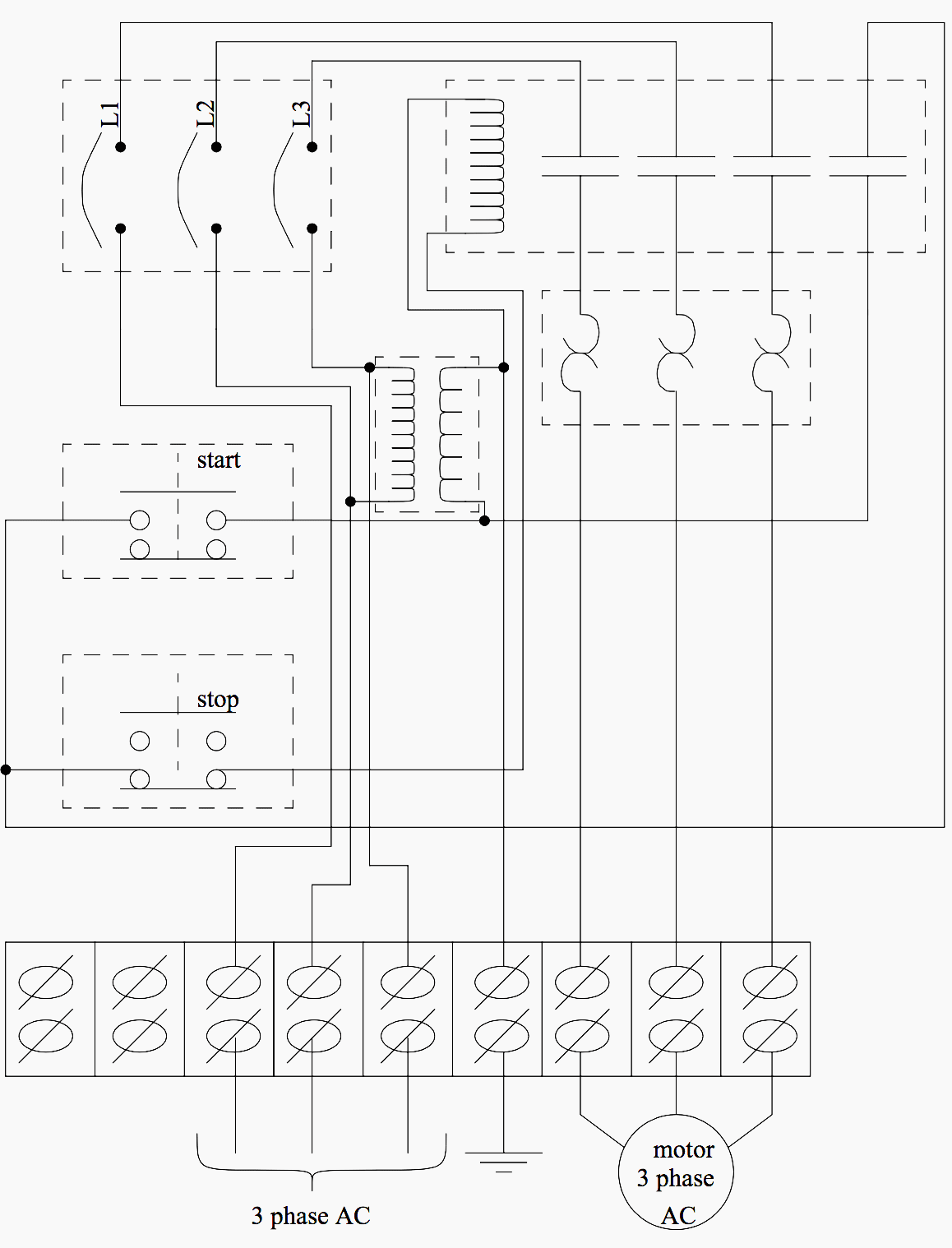 basic electrical design of a plc panel (wiring diagrams) eep Ba13a Wiring-Diagram