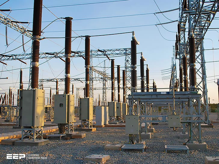 The study of 220kV power substation (equipment details)