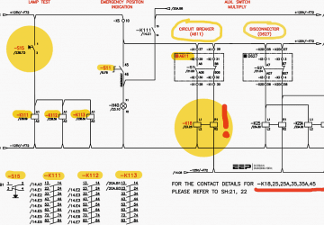 Learn how to read and analyze control circuits of MV gas insulated switchgear (GIS)