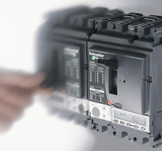 Compact NSX circuit breaker with Micrologic 2 Electronic Trip Unit