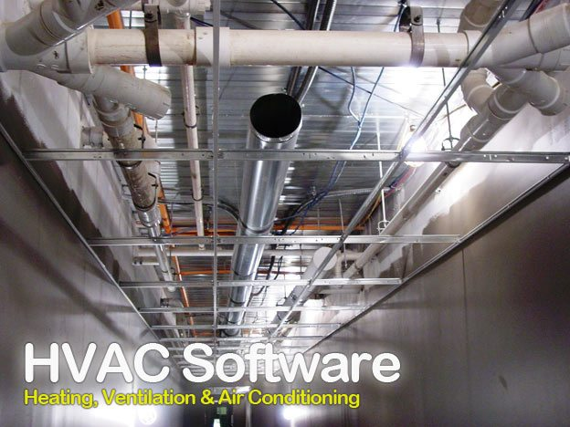 HVAC (Heating, Ventilation and Air Conditioning) software and MS Excel Spreadsheets