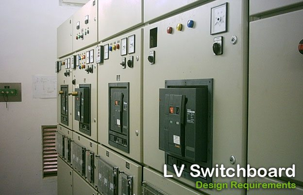 Low voltage switchboard - Design requirements