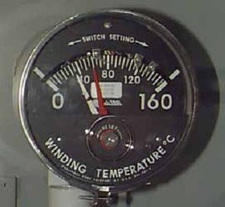Winding Temperature gauge